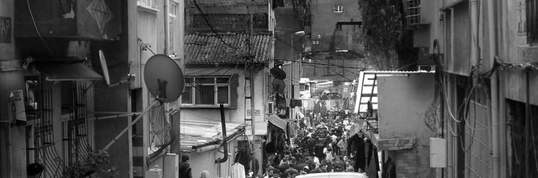 Syrische vluchtelingen in Istanbul